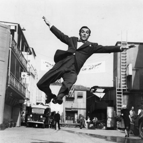 Gene Kelly vivre et danser