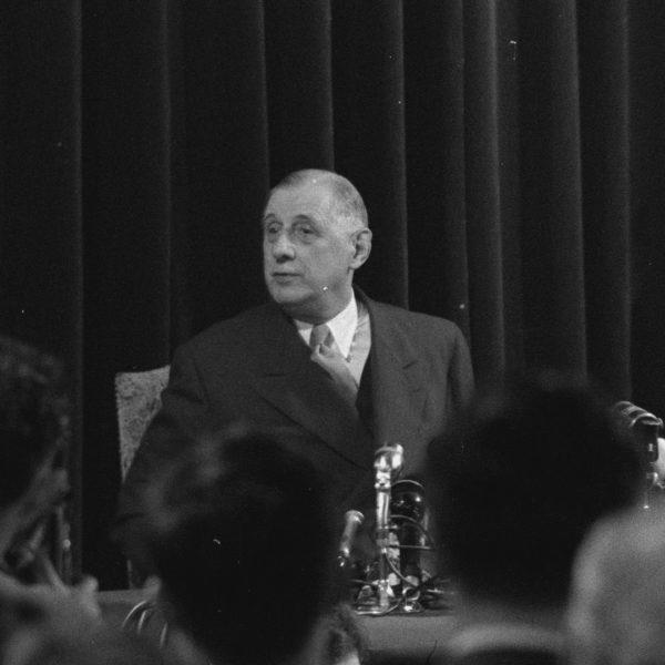 MAI 1958 LE PRINTEMPS DU GENERAL